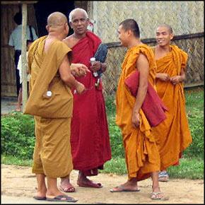Bengali monks