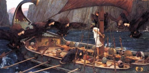 John William Waterhouse - Ulysses and The Sirens 1891